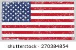 grunge usa flag.american flag... | Shutterstock .eps vector #270384854
