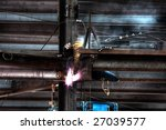 welder at work | Shutterstock . vector #27039577