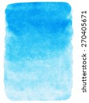 Sky Blue Watercolor Abstract...