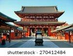 sensoji temple in tokyo japan. | Shutterstock . vector #270412484