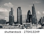 london city rooftop view with... | Shutterstock . vector #270413249