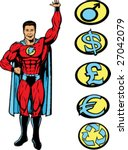 superlifting guy  can be... | Shutterstock .eps vector #27042079