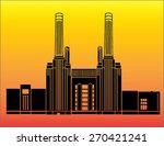 Silhouette Of Battersea Power...