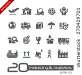 industry   logistics icons   ... | Shutterstock .eps vector #270429701