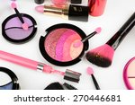 different cosmetics close up | Shutterstock . vector #270446681