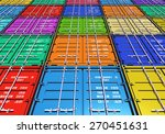 creative abstract freight... | Shutterstock . vector #270451631