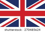 Vector Image Of The British Flag