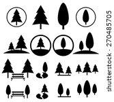park icon set | Shutterstock .eps vector #270485705