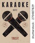 typographic retro grunge...   Shutterstock .eps vector #270487829