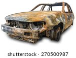 Burnout Car   Isolation On A...