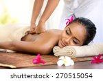 balinese massage in spa... | Shutterstock . vector #270515054