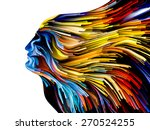 colors of imagination series.... | Shutterstock . vector #270524255