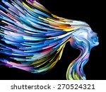 colors of imagination series.... | Shutterstock . vector #270524321