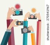 vector  illustration  modern...   Shutterstock .eps vector #270541967