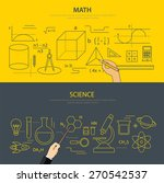 math and science education... | Shutterstock .eps vector #270542537