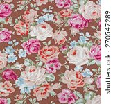 vintage style of tapestry... | Shutterstock . vector #270547289