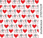 background wallpaper love heart ... | Shutterstock .eps vector #270574139