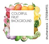 vector colorful square... | Shutterstock .eps vector #270584951
