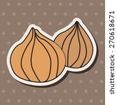 vegetable theme onion  cartoon...