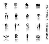 business icon set | Shutterstock .eps vector #270622769