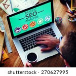 search engine optimization... | Shutterstock . vector #270627995