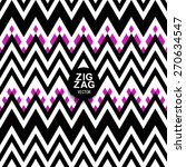 a chevron zigzag striped... | Shutterstock .eps vector #270634547