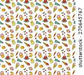 sweet color seamless | Shutterstock .eps vector #270645767