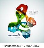 modern fresh wave business... | Shutterstock .eps vector #270648869