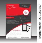 vector flyer  brochure ... | Shutterstock .eps vector #270659657