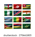 illustration of the world... | Shutterstock . vector #270661805