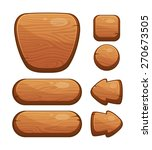 vector illustration of a set of ... | Shutterstock .eps vector #270673505