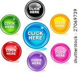 click here buttons | Shutterstock .eps vector #27069739