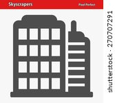 skyscrapers icon. professional  ... | Shutterstock .eps vector #270707291