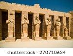 luxor. egypt | Shutterstock . vector #270710624