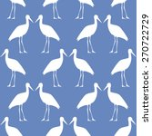seamless pattern with beautiful ... | Shutterstock .eps vector #270722729