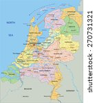 netherlands   highly detailed... | Shutterstock .eps vector #270731321