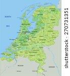 High Detailed Netherlands...