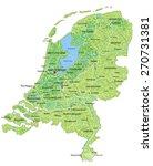 high detailed netherlands... | Shutterstock .eps vector #270731381