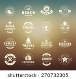 summer holidays labels design... | Shutterstock .eps vector #270732305