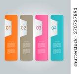 business infographics template... | Shutterstock .eps vector #270737891