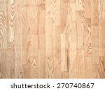 brown parqueted floor  wooden... | Shutterstock .eps vector #270740867