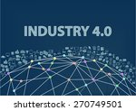industry 4.0 vector... | Shutterstock .eps vector #270749501