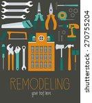 building set | Shutterstock .eps vector #270755204