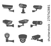 digital surveillance camera... | Shutterstock .eps vector #270762881