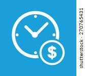 Money Time Icon. Earn Time Ico...