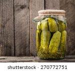 jar of pickles | Shutterstock . vector #270772751