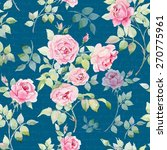 seamless floral pattern with... | Shutterstock . vector #270775961
