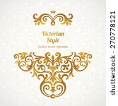 vector lace pattern in... | Shutterstock .eps vector #270778121