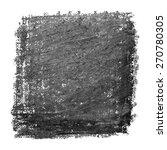black brush texture. vector... | Shutterstock .eps vector #270780305