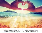 summer holidays background  sea ... | Shutterstock . vector #270790184
